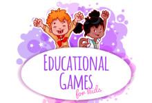 Обучающие игры для детей (англ. язык)